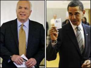 Both senators cast their ballots in their home states