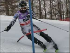 Ghana's first skier off to Olympics