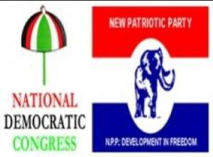 Supporters of NDC, NPP clash at Sankore