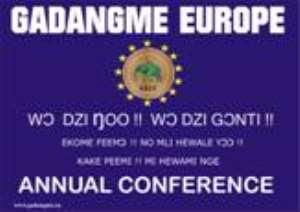 GADANGME EUROPE 9TH ANNUAL CONFERENCE, RÜMLANG-ZURICH SWITZERLAND