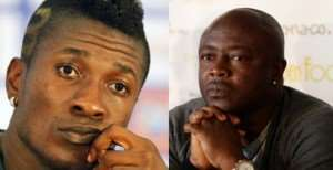 Face off: Asamoah Gyan and Abedi Pele