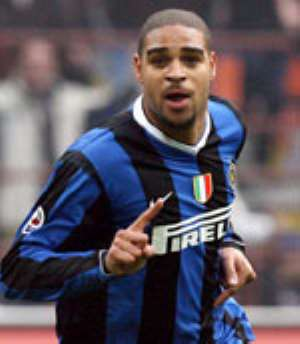 Adriano back for Brazil