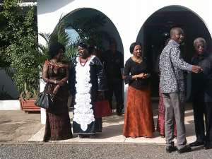 Female Ministers pay tribute to Theodosia Okoh