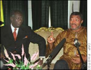 Rawlings on threats to Kufuors Govt