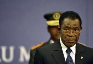 Obiang has embarked on a charm offensive to improve his image.  By Eric Feferberg (AFP/File)