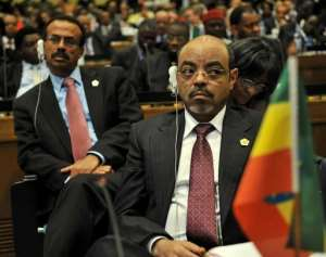 In April Zenawi told lawmakers Ethiopia was ready to help the people of Eritrea topple the regime their.  By Tony Karumba (AFP/File)