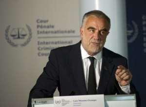 Luis Moreno-Ocampo.  By Robert Vos (AFP/File)