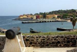 The port of the Island of Gorée, October 9, 2003.  By Marcel Mochet (AFP/File)