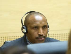 Rwandan-born warlord Bosco Ntaganda at the International Criminal Court in The Hague, The Netherlands on February 10, 2014.  By Toussaint Kluitters (Pool/AFP/File)