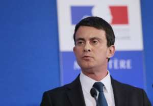 French Interior Minister Manuel Valls delivers a speech on January 18, 2013.  By Jacques Demarthon (AFP)