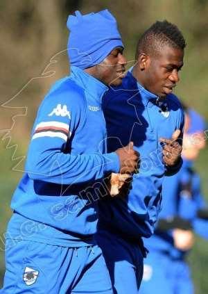 Afriyie Acquah: Ghana AFCON star set for Sampdoria debut in Italy