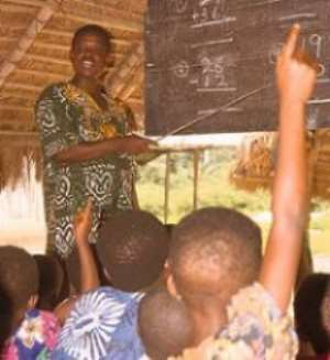 South Tongu GES Levies Pupils To Pay Bills
