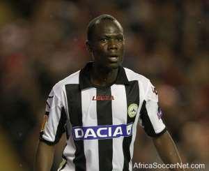 Winner! Agyemang-Badu scores in Udinese's win against Milan