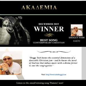 London Based Gospel Rapper Shoggy Tosh Wins His 4th Music Gong