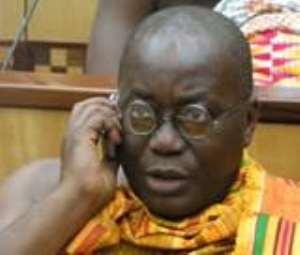 Akuffo Addo in reshuffle scare