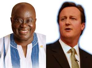 Akufo-Addo Meets David Cameron Over 2012 Elections And Gay Issues
