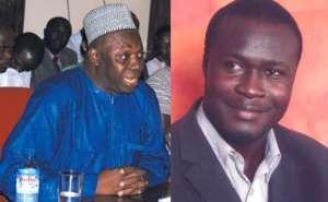 Hon Mohamed Mumuni and Mr. Arnold Boateng