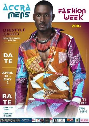 Lifestyle Gallery Hosts Accra Men's Fashion Week 2016 On April 30th