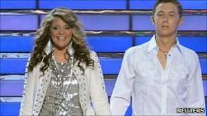 Scotty McCreery, 17, beat Lauren Alaina, 16, in the youngest finale battle in the show's history