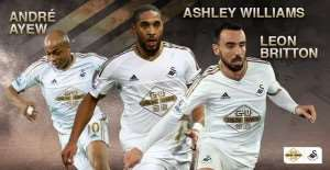 Andre Ayew nominated for Swansea January Player of the Month