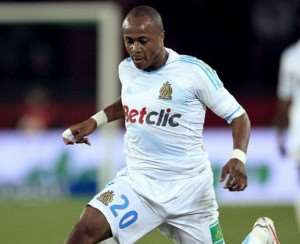Andre Ayew could leave Marseille for Liverpool when the transfer window opens