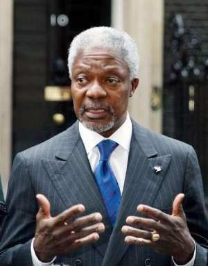Dr Kofi Annan our next President?