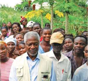 Why is Kofi Annan Fronting For Monsanto? The GMO Assault On Africa