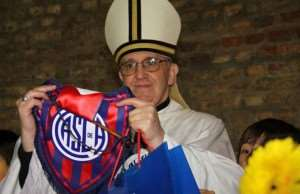 The new Pope is a huge fan of football!!