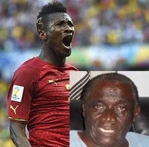 Asamoah Gyan, INSET: Nana Fitz