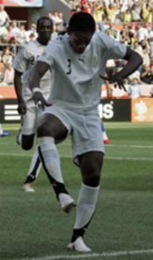 THREE POTENTIAL CAF AWARDS FOR GHANA