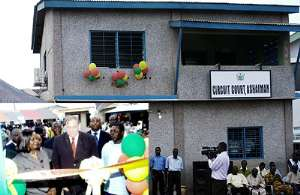 Chief Justice Inaugurates New Court