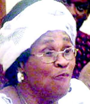 Hon. Gladys Asmah goes on the offensive... NDUOM IS SCH BOY, BUT MILLS IS A SICKMAN
