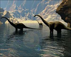 Tale of the shrinking dinosaurs