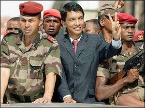 Madagascar Prez Steps Down