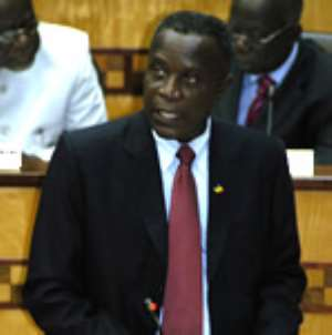 Finance Minister Condemns Piracy