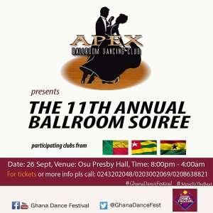Ballroom Soiree Set For September 26 In Accra
