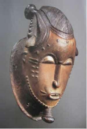 Baule Mask, Côte d Ivoire, musée Barbier-Mueller, Geneva.