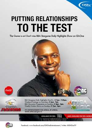 GH-ONE AIRS BIG BROTHER AFRICA STARGAME HIGHLIGHTS
