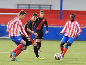 Benjamin Asamoah: Ghanaian starlet scores in Atletico Madrid B win over Real Union in Spanish third-tier