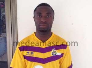 Medeama new signing Bernard Ofori bags hat-trick in heavy win over Tarkwa select side in low-profile friendly