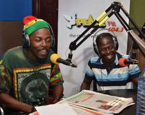 Kwaw Kese (left) and Abrantie Amakye Dede