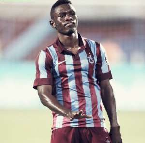 Ghana striker Majeed Waris Waris claims being played out of position at Trabzonspor