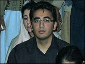 Bhutto's son named successor
