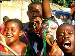 Ghanaians ecstatic over World Cup win