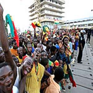 Fans welcome Black Stars