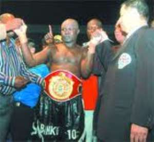 'Bukom Banku' named WBO African Boxer of the Year