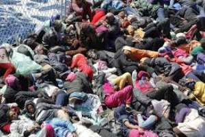 Mass Migration Deaths Caused By Imperialist Foreign Policy
