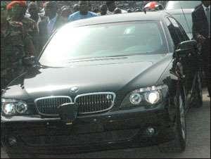 'Rawlings Keeps 2 Bullet-Proof Cars'