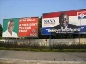 AMA Rids Accra Of Political Billboards
