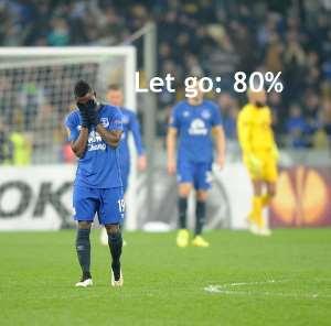 Christian Atsu has endured a torrid time at Everton